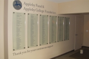 DONOR RECOGNITION SIGNS AND PLAQUES (19)
