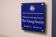 DONOR RECOGNITION SIGNS AND PLAQUES (29)