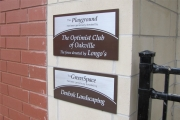 DONOR RECOGNITION SIGNS AND PLAQUES (7)