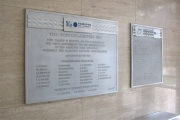 DONOR RECOGNITION SIGNS AND PLAQUES (16)