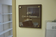 DONOR RECOGNITION SIGNS AND PLAQUES (2)