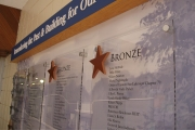DONOR RECOGNITION SIGNS AND PLAQUES (20)