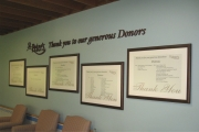 DONOR RECOGNITION SIGNS AND PLAQUES (5)