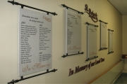 DONOR RECOGNITION SIGNS AND PLAQUES (8)