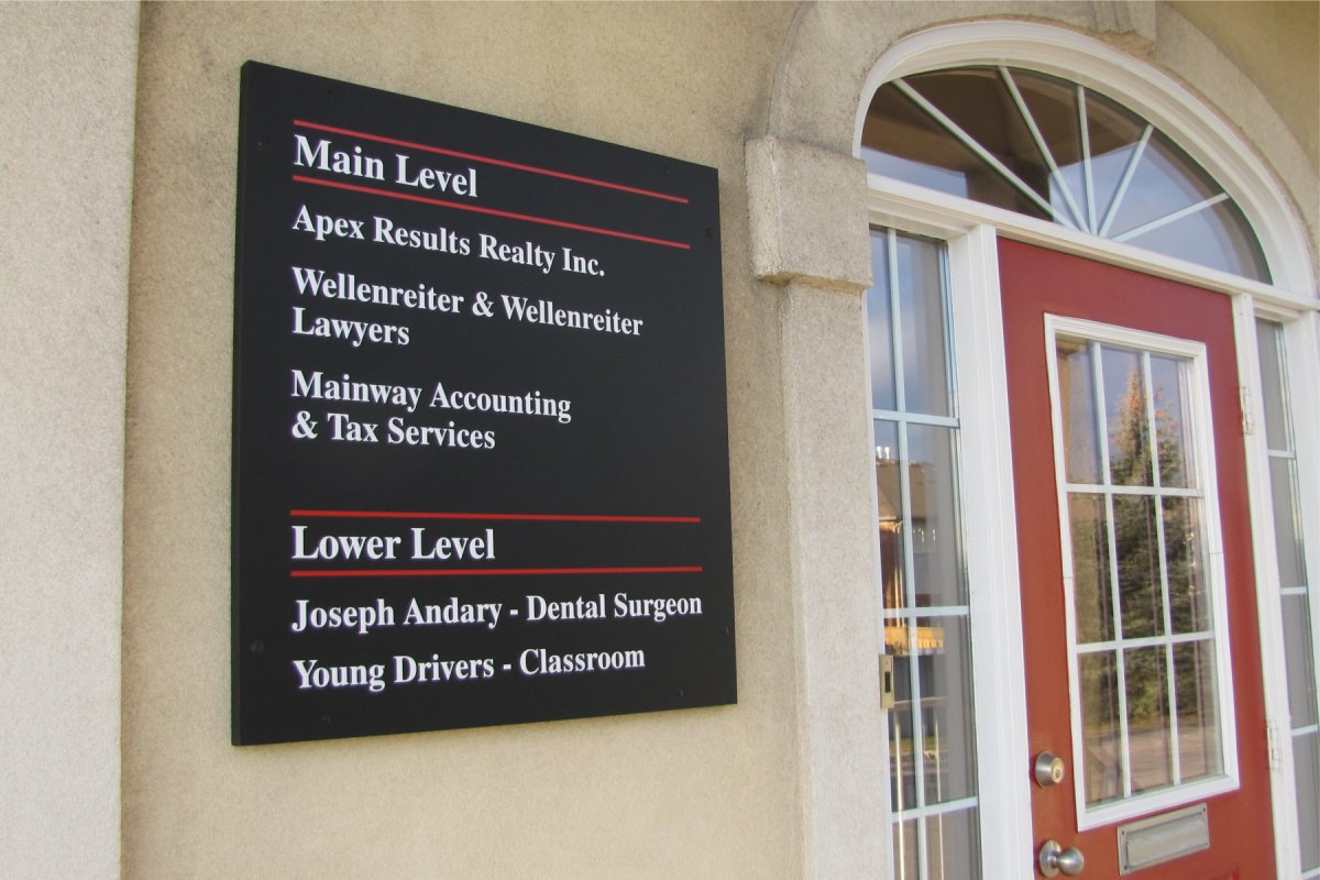 Exterior Wall Signs : Exterior wall ground billboard signs dee