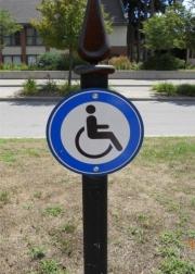 ALUMINUM PARKING, TRAFFIC & STREET SIGNS (2)