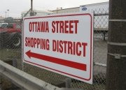 ALUMINUM PARKING, TRAFFIC & STREET SIGNS (21)