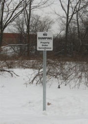 ALUMINUM PARKING, TRAFFIC & STREET SIGNS (7)